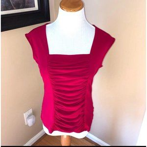 Style and Co Sleeveless Square Neck Top